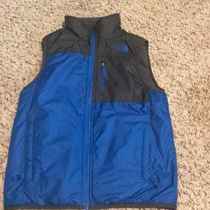 Boys North Face Reversible Vest
